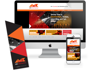 JMC Distribution Identity and Responsive Web Site